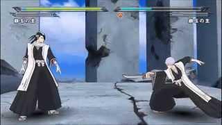 Bleach PC Heat the Soul 7 (Ichimaru Gin vs Kuchiki Byakuya) (1080p) (MaximumGame) HUN