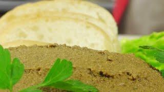 Практичный паштет видео рецепт(Рецепт вкусного печеночного паштета приготовленного практически из отходов. ИНГРЕДИЕНТЫ: http://www.videocooking.ru/ret..., 2016-05-12T11:00:01.000Z)