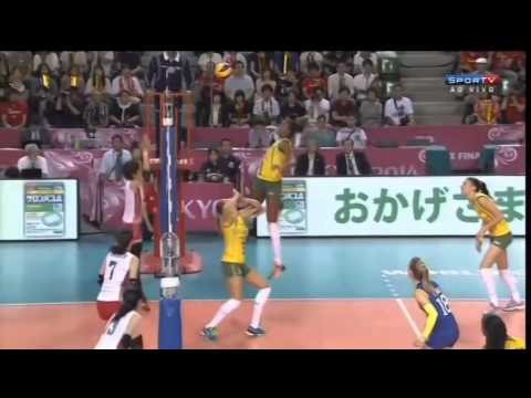 Brasil x Japão - Fase Final - World Grand Prix 2014