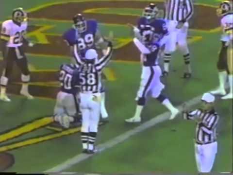Joe Morris Highlights: 1985 Rushing Touchdowns