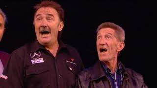 Chuckle Brothers Arrive at Blackpool