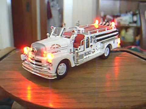 Corgi fire truck