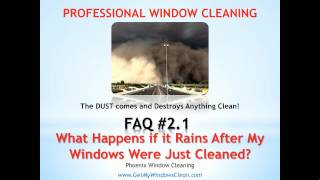 Phoenix Window Cleaning - FAQ#2.1