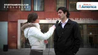 The first Azeri to study at New York University