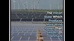 The Indian State Which Produces More Wind Power Than Sweden Or Denmark
