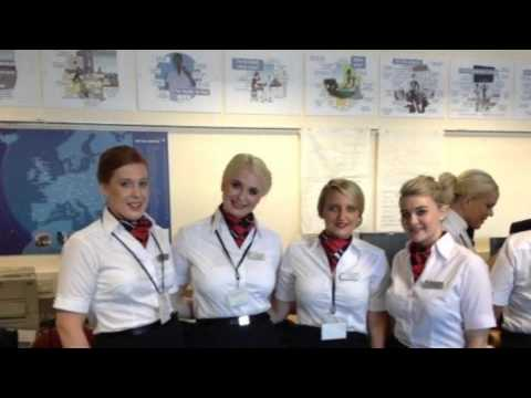 BA NEM45 (Initial Cabin Crew Training) - YouTube
