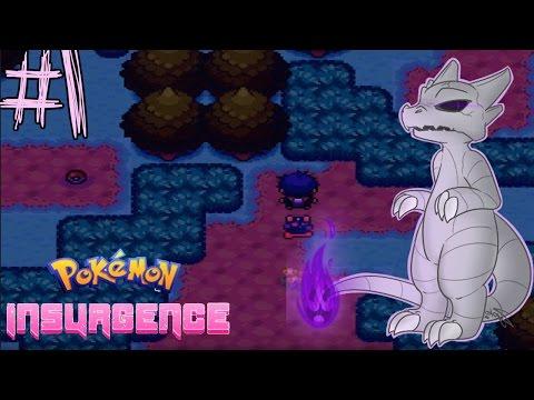 Pokémon Insurgence - Episode 1 ไปเลยคู่หูตัวใหม่ Delta charmander [Live]