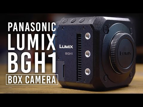 Panasonic Reveals BGH1 Box 4K Cinema Camera; More Info at B&H