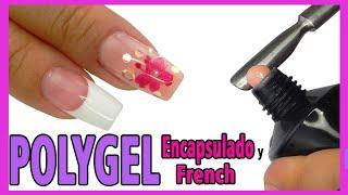 Uñas de Polygel ENCAPSULADO y FRENCH con Moldes Dual / Xnails Peru