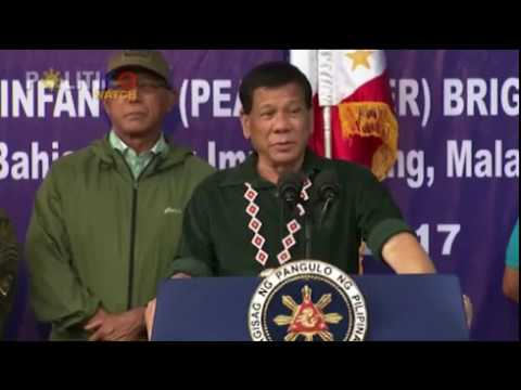 Duterte wants to end martial law in Mindanao ASAP