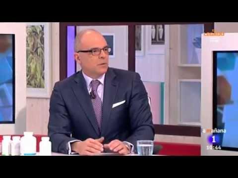 El Doctor Ángel Durántez en el programa de La Mañana de TVE