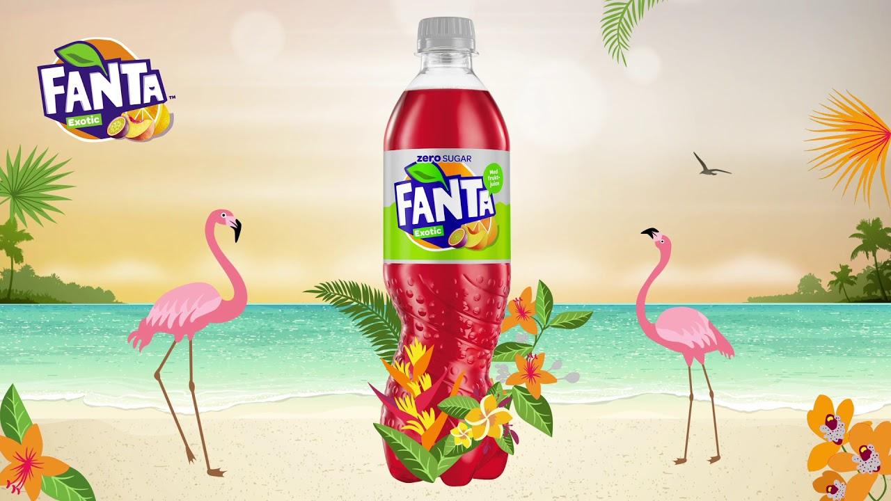 fanta exotic zero sugar