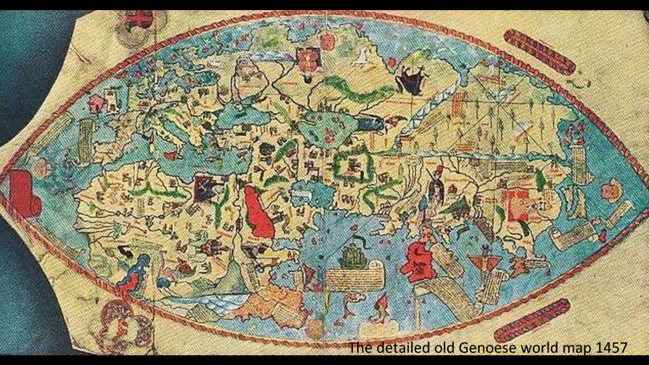 Oldest Known World Map.The World Oldest Maps 2 Youtube
