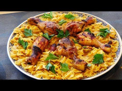 plat-familial-de-pâtes-au-poulet-facile--one-pot-pasta