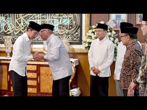 Presiden Jokowi Takziah Ke Kediaman Ketua Mahkamah Agung, Jakarta, 21 Juni 2019