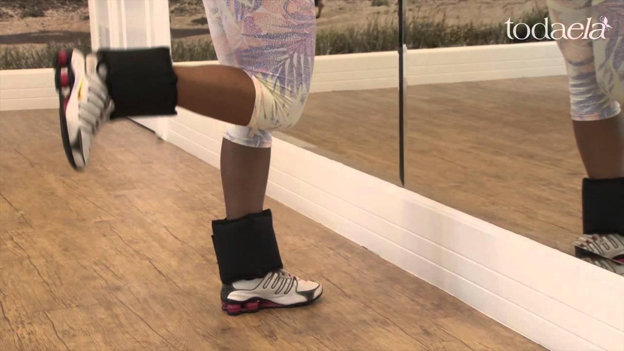 Flexão de joelho em pé - c/ ou s/ caneleira | Catálogo de