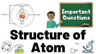 11th Class - NEET Chemistry - Structure of Atom (in English) - Important Questions | NEET 2020 2021
