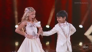 Gambar cover Akash Vukoti & Kamri Peterson - Dancing With The Stars Juniors (DWTS Juniors) Episode 1