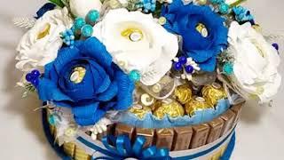 Крутой шоколадный торт из фереро и мерси. Подарок своими руками