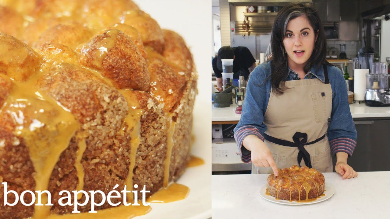 Claire Makes Monkey Bread From The Test Kitchen Bon Appetit