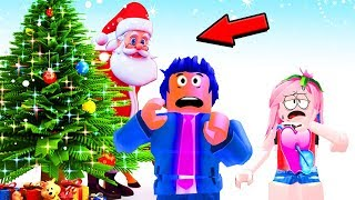 🎅WITHIN SANTA CLAUS😱 YOU DON'T BELIEVE WHAT'S INSIDE!🎄ROBLOX CHRISTMAS ADVENTURE OBBY