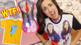 I BOUGHT FAKE MIRANDA SINGS MERCH!