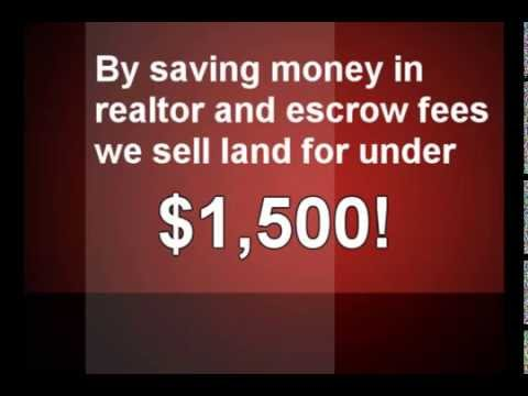 Cheap Land for Sale by owner- California - Arizona -New Mexico- Nevada- Texas www.Land4Less.us