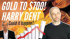 Gold Price will Collapse to $700: Harry Dent. Could it really happen?