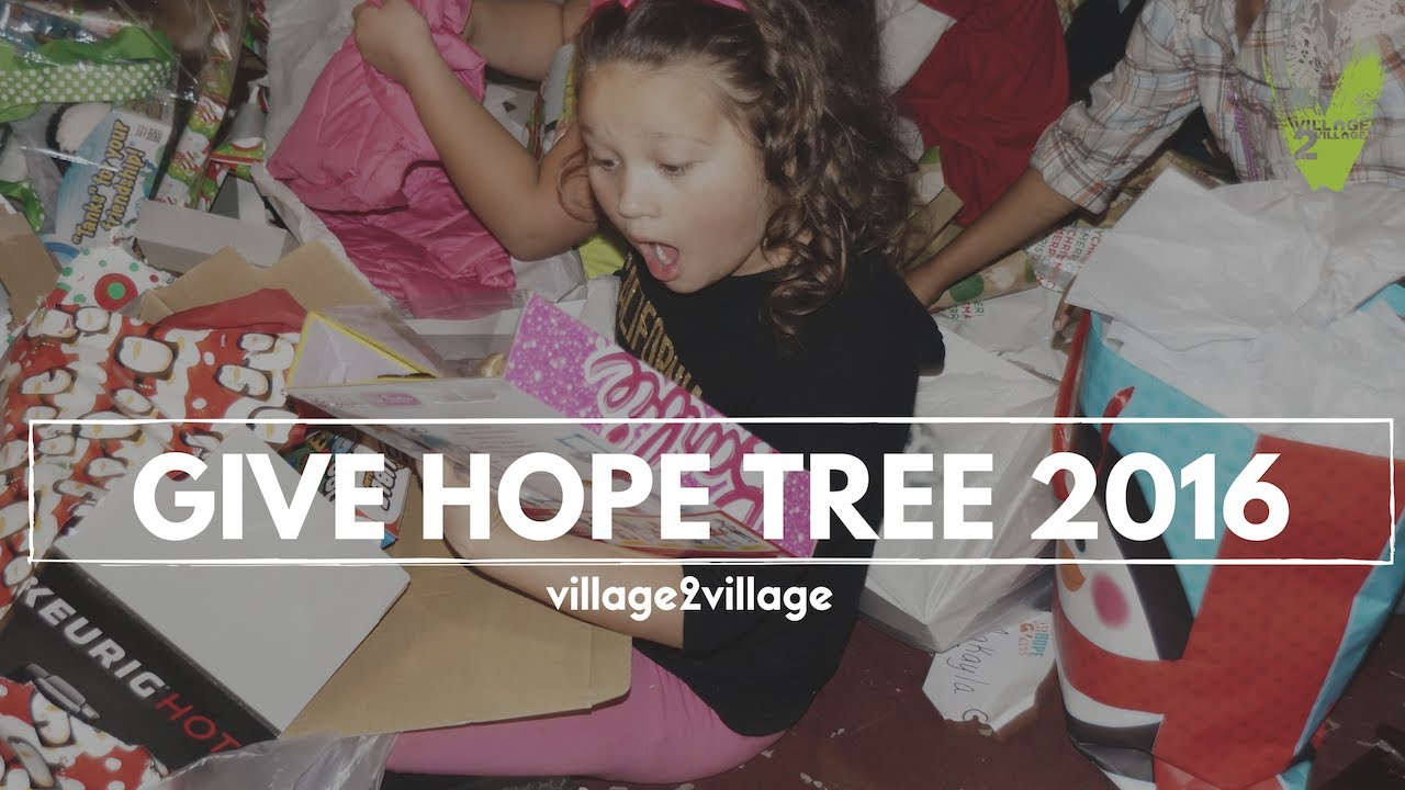 Give Hope Tree 2016