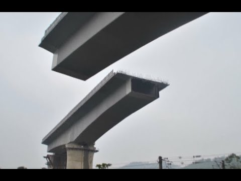 Key Bridge in Upgrading of China Railway System Docked in east China