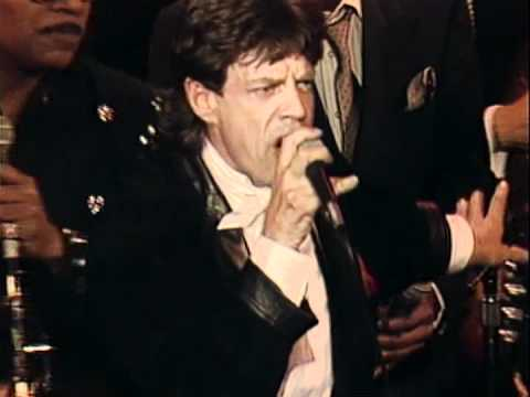 "Mick Jagger, Tina Turner and others -- ""Honky Tonk Woman"""