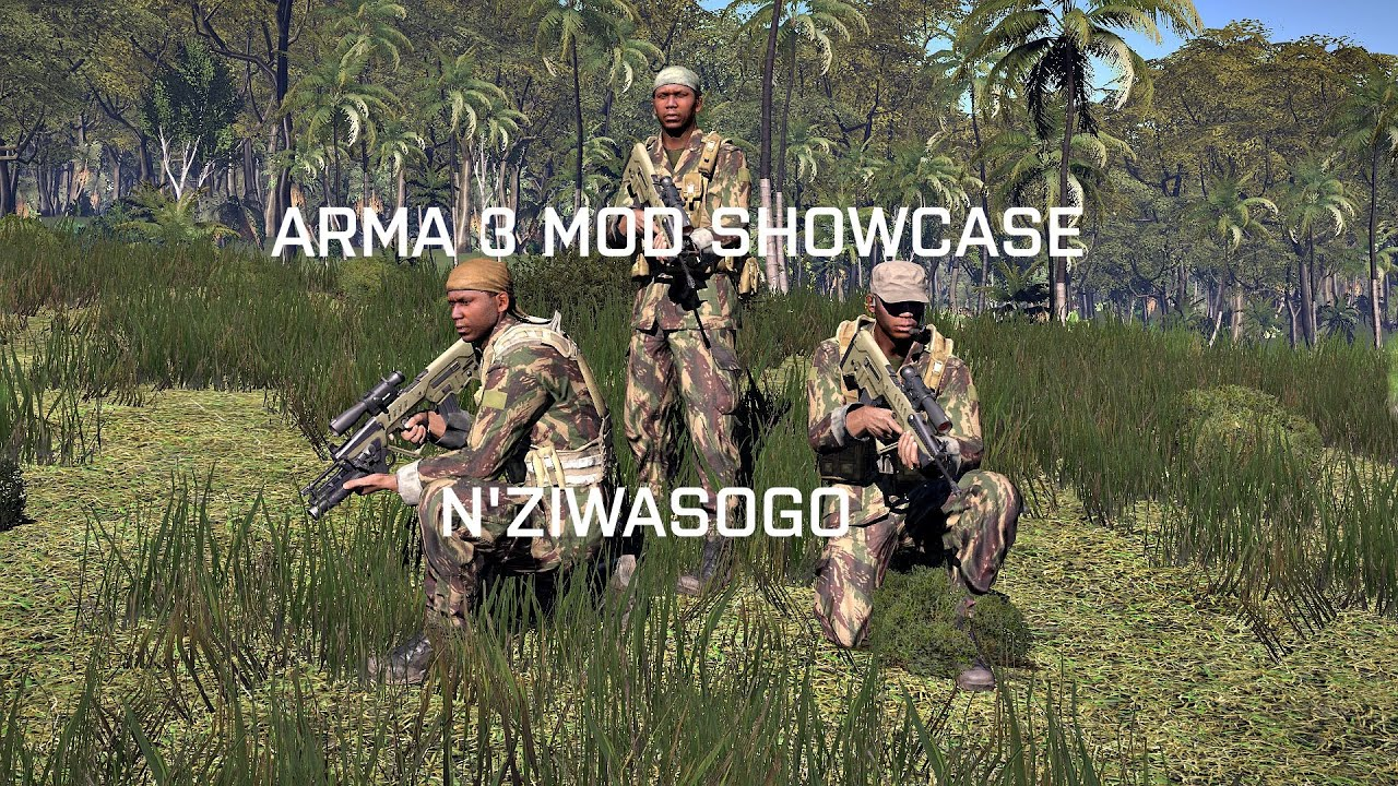 Arma 3 Mod Showcase NZiwasogo Map YouTube