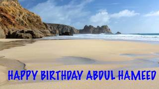 AbdulHameed   Beaches Playas - Happy Birthday