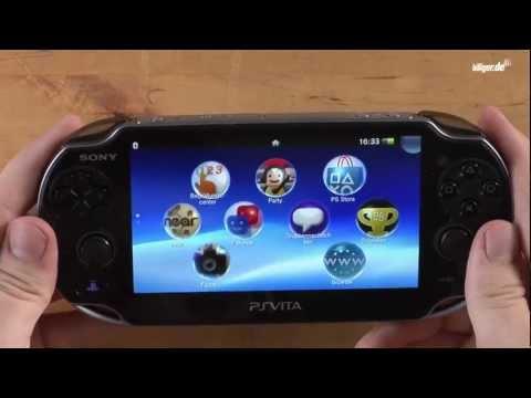 Sony Playstation Vita - Unboxing & Review (deutsch)