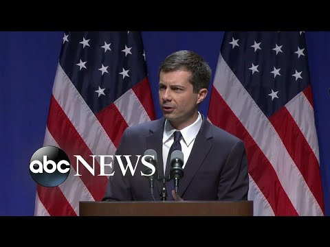 Pete Buttigieg delivers speech on foreign policy and national security