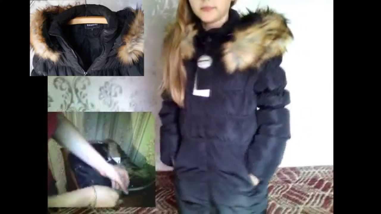 Отзыв зимний осенний пуховик детский - YouTube
