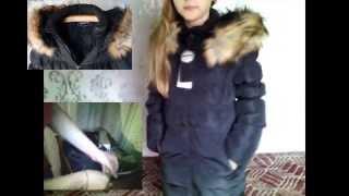Отзыв зимний осенний пуховик детский(С алиэкспресса!!! Пальто отлично подойдет на теплую зиму или холодную осень! Наши замеры этой удлиненной..., 2015-05-18T10:54:12.000Z)