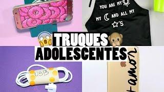 10 TRUQUES QUE TODO ADOLESCENTE DEVERIA SABER  ft. Carol Alves