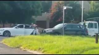 Dramatic Pretoria hijack attempt caught on camera