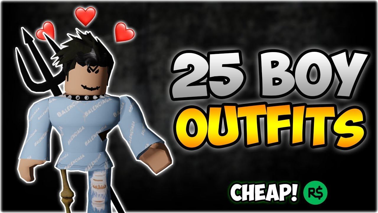 boy outfit roblox Top 25 Best Roblox Boy Outfits Of 2020 Fan Outfits 5 000 Subscribers Youtube