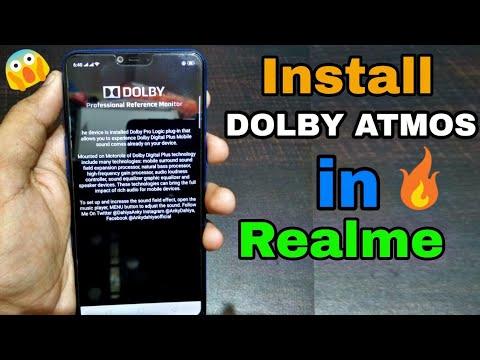Dolby atmos apk for realme 2   How to install DOLBY ATMOS