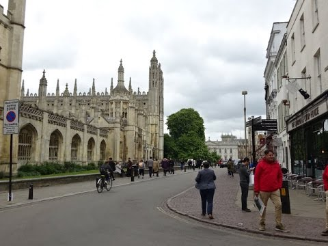 Cambridge University, UK - A Walk Down Memory Lane