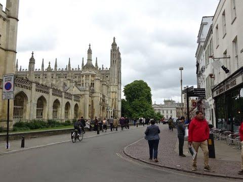 Cambridge University, UK - A Walk Down Memory Lane