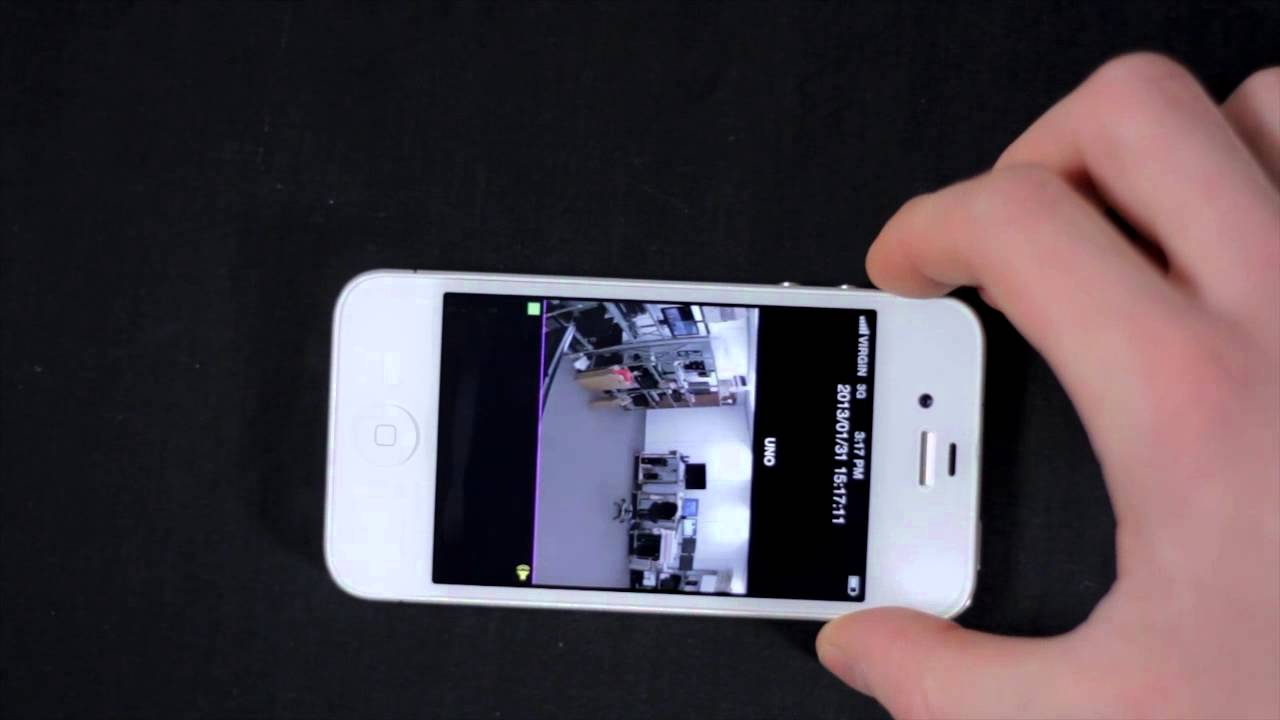 How To Set Up Lorex HD Security System Mobile App for iPhone & iPad