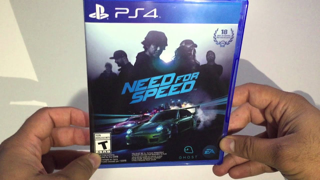 need for speed ps4 2015 unboxing before release youtube. Black Bedroom Furniture Sets. Home Design Ideas