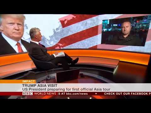 BBC World News Impact - Trump Asia visit