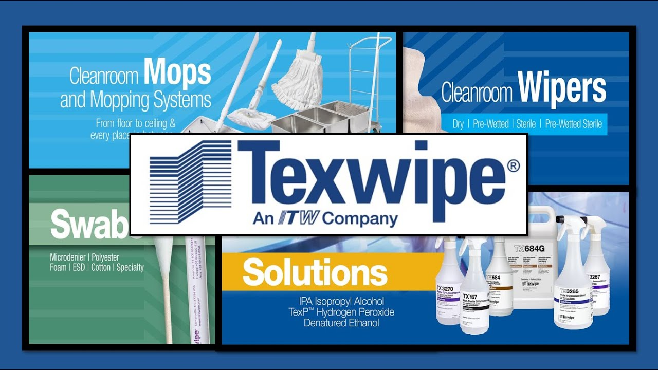 TexWipe® TX3273 Sterile 70% Isopropyl Alcohol Solution, USP
