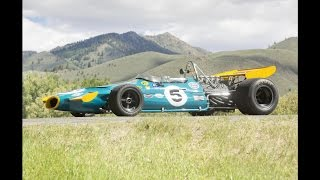 Brabham-Cosworth Ford BT33 Formula 1 Car Heading to Auction