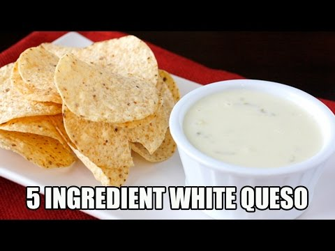 5 Ingredient White Queso Dip Recipe | Episode 338
