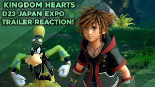 Kingdom Hearts 3 D23 Japan Expo 2018 Trailer Reaction!